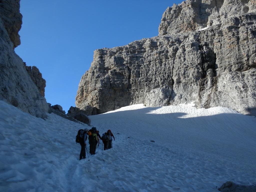 En remontant le glacier Sfulmini