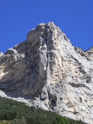 Le superbe Pilier S du Rocher du Midi