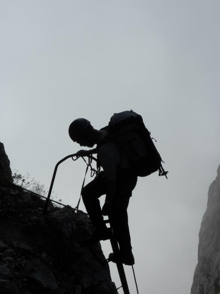Dans le Sentier Castiglioni
