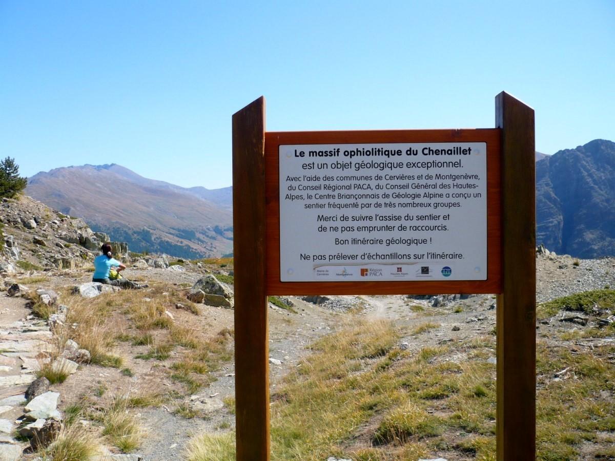 Cabane des Douaniers (départ du sentier géologique)