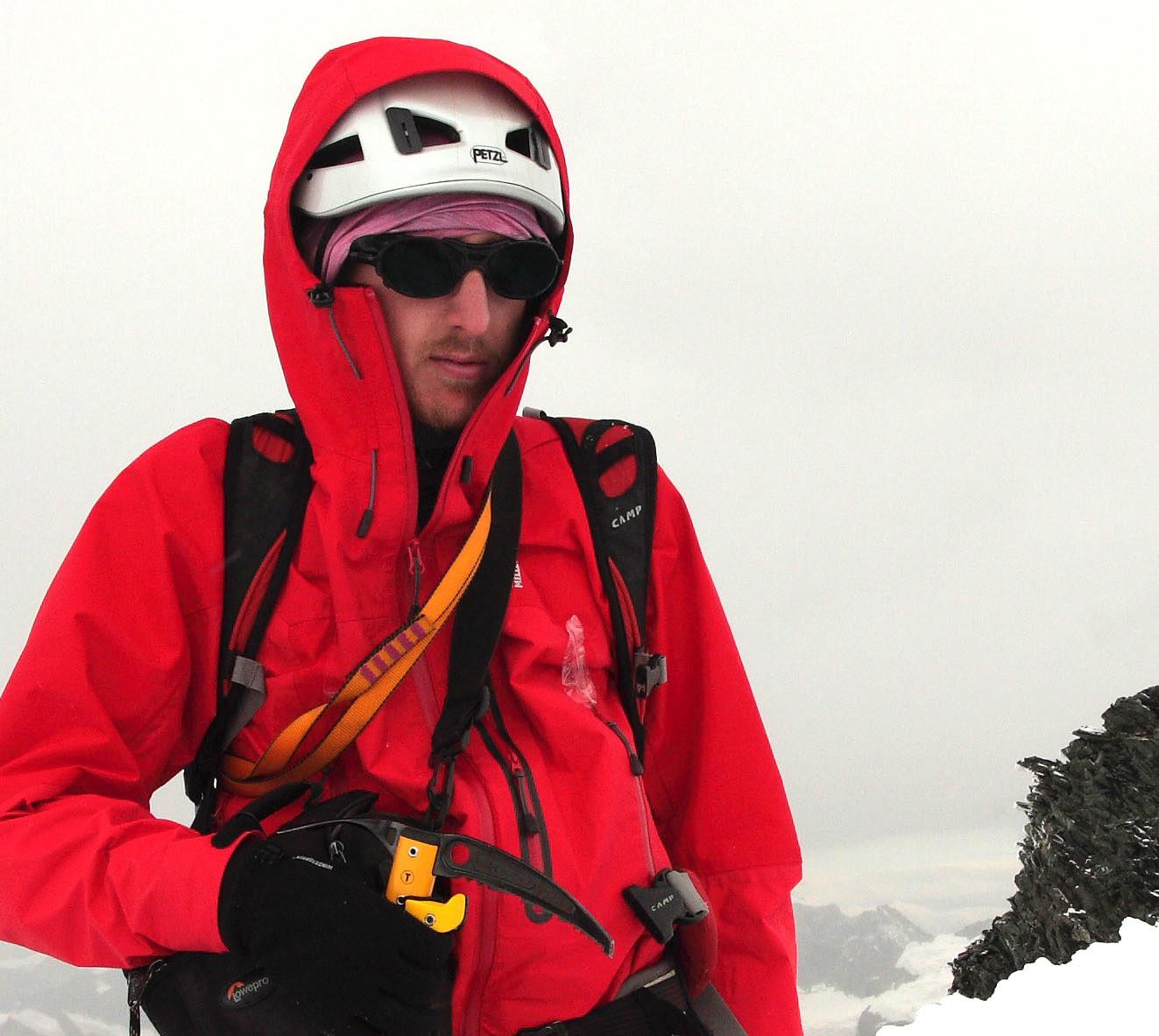 Au sommet de l'Allalinhorn