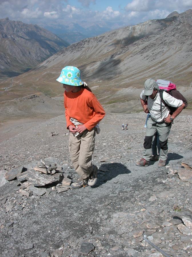 Delphine et Didier dans la montée