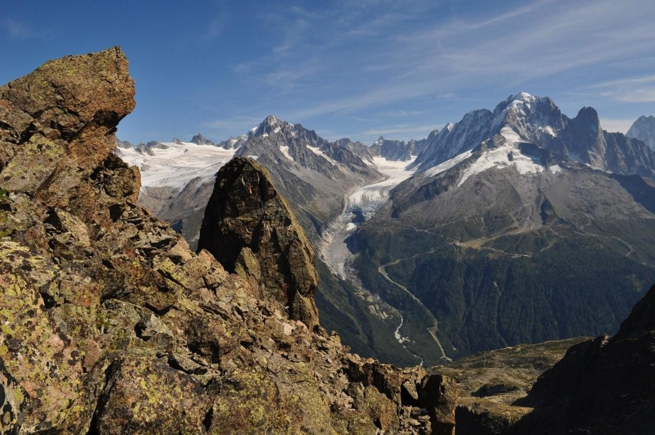 Glacier du Tour et Aig Verte