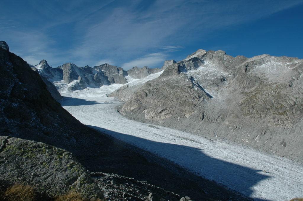 Fond du Val Forno, avec la Cima di Castello