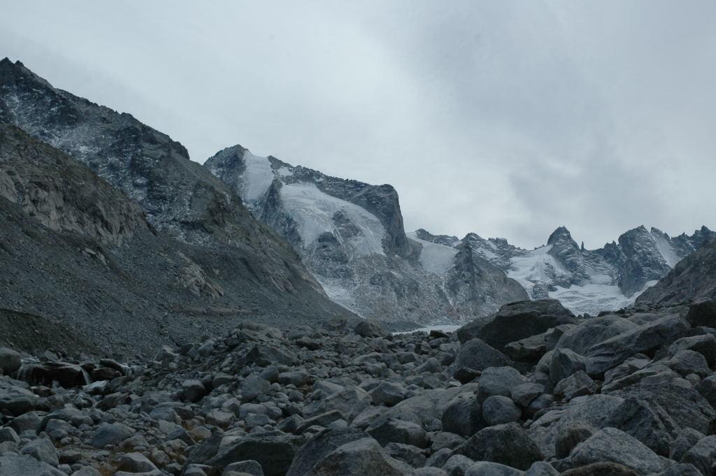 Vue sur la Cima di Rosso, depuis le Val Forno