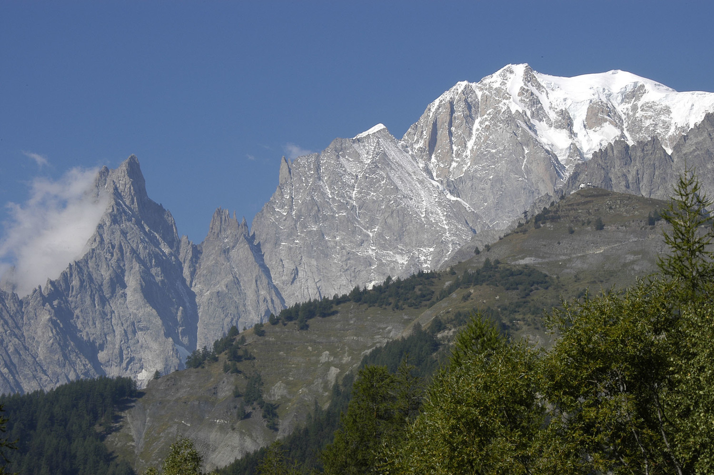 La Noire..la Blanche..et le Mt. Blanc
