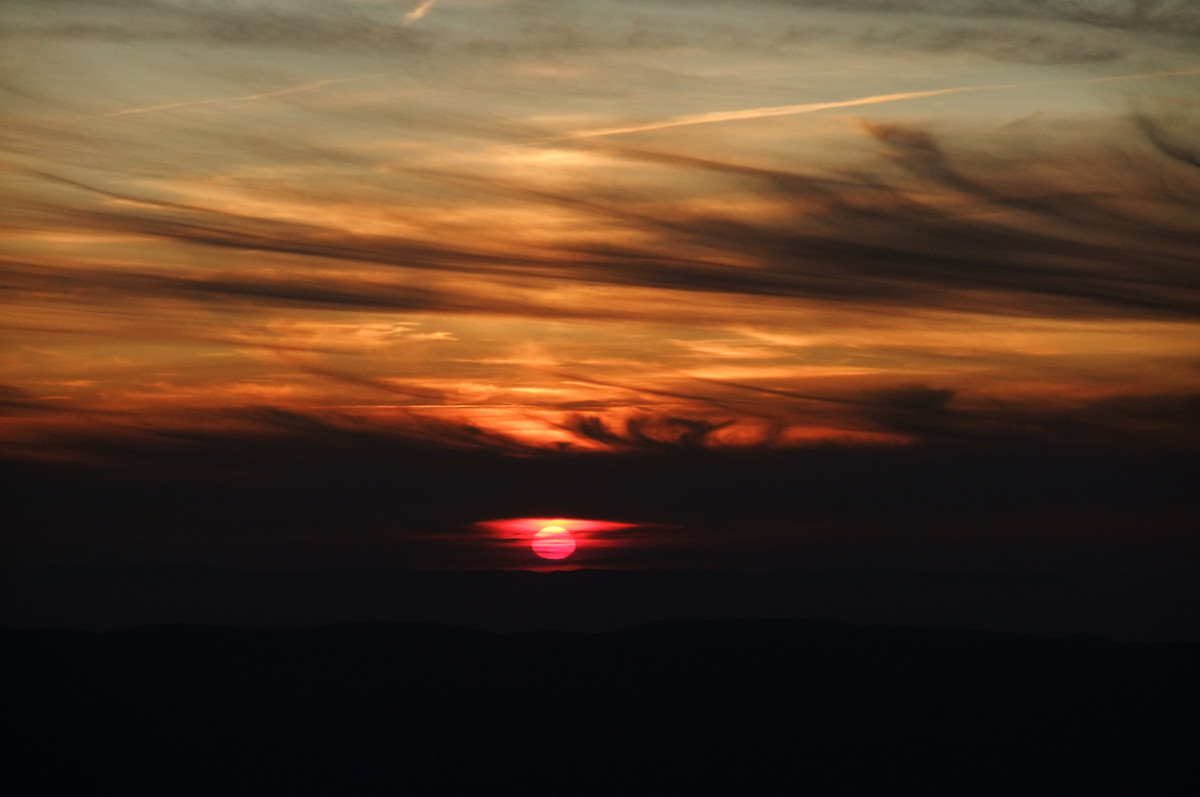 Crépuscule, en montant à la Grande Lauzière