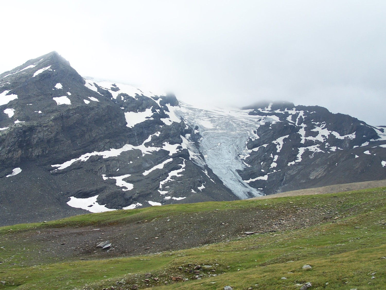 Chute du glacier d'Argerey, Mt Miravidi