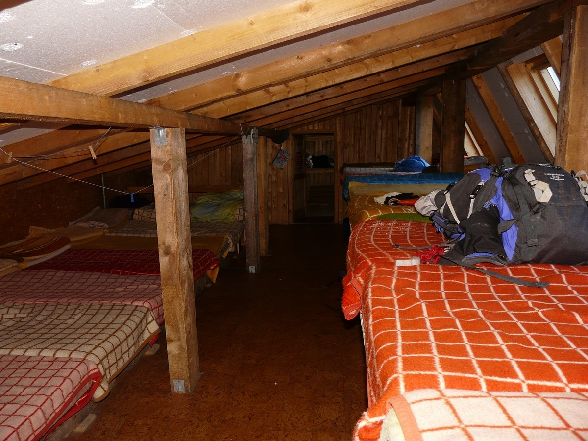 Chata pod Rysmi - dortoirs