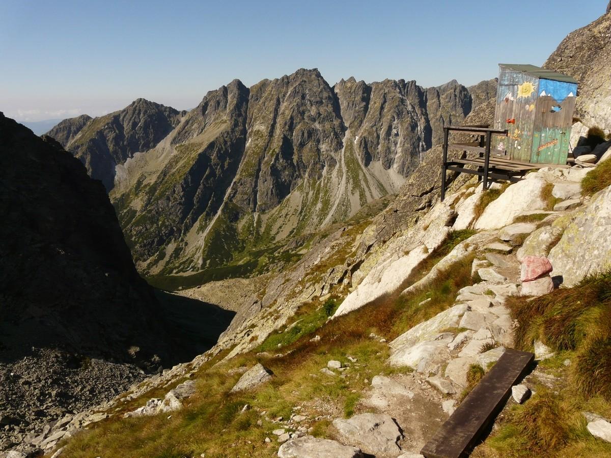 Chata pod Rysmi - les toilettes panoramiques