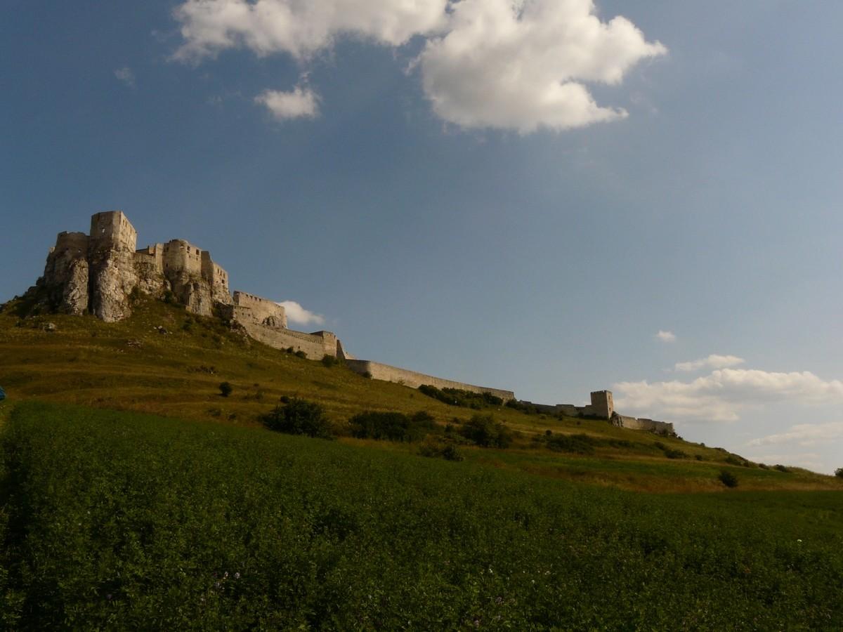 Château de Spiš - versant W