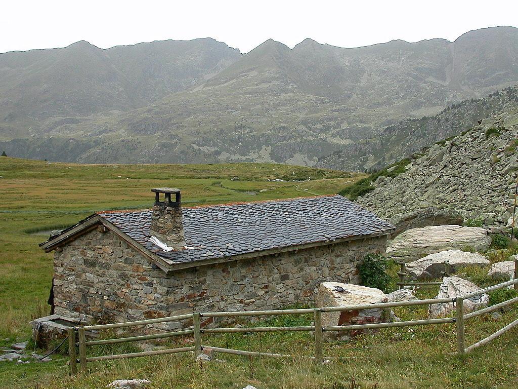 Le refuge de Siscaro