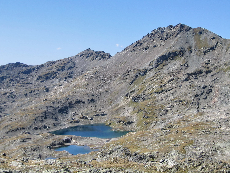 lacs verdets, en montant au lac blanc
