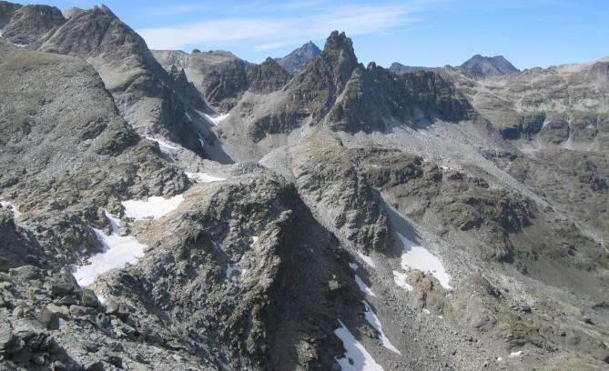 Gd Cordonnier- vue depuis sommet