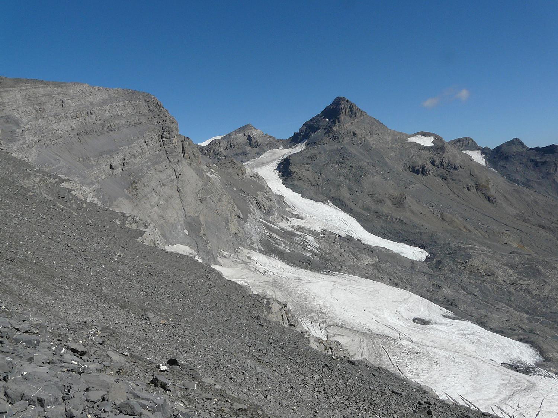 Tour Sallière et le glacier des Fonds