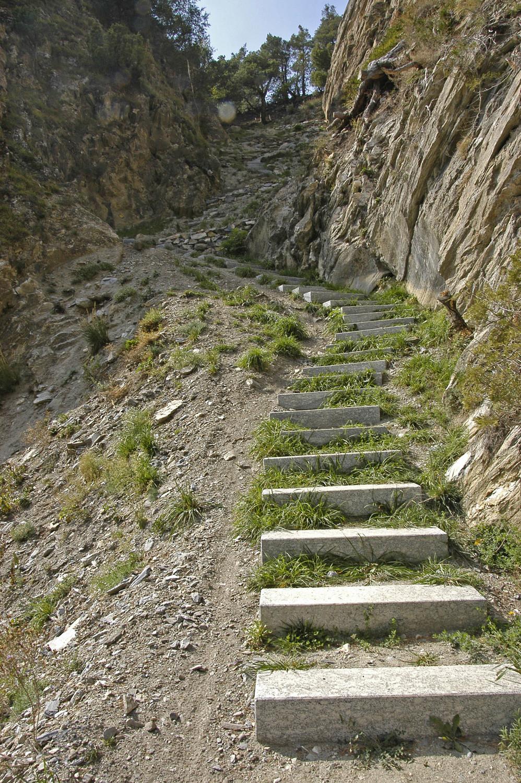 Escaliers de pierre...polie !