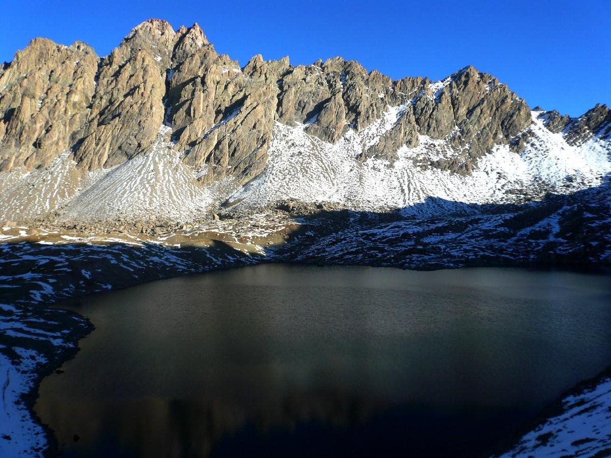 Aiguilles de Chambeyron et Lac des 9 Couleurs