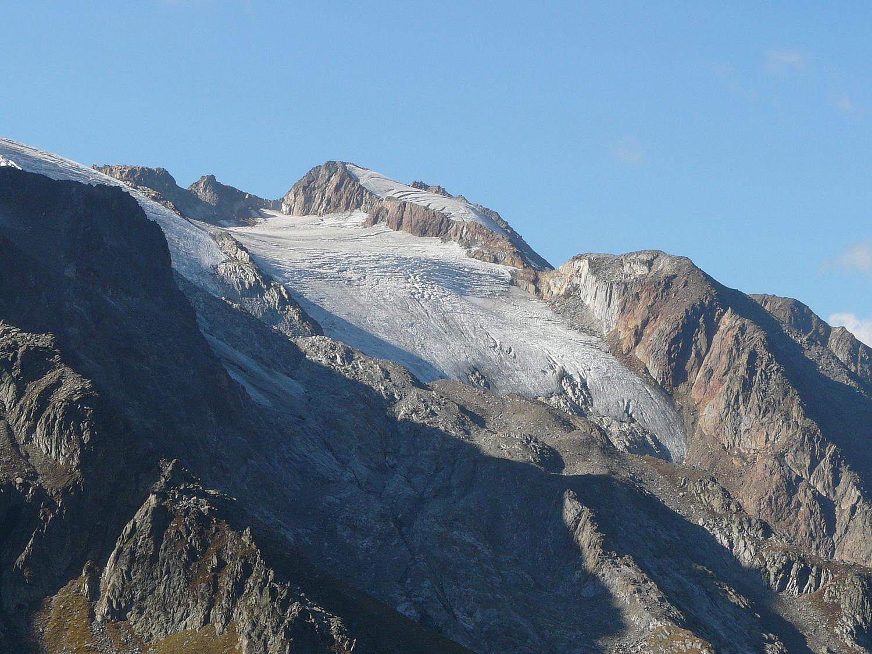 La pointe des Grands et son glacier