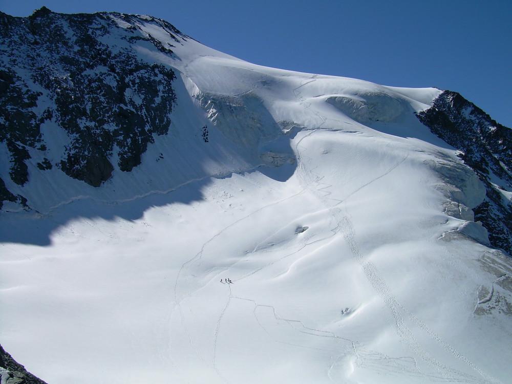 Du col des Roches l'itiniraire du glacier du Geay