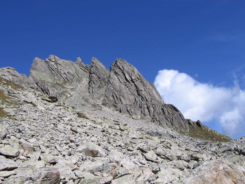 Hochschijen cresta Sud