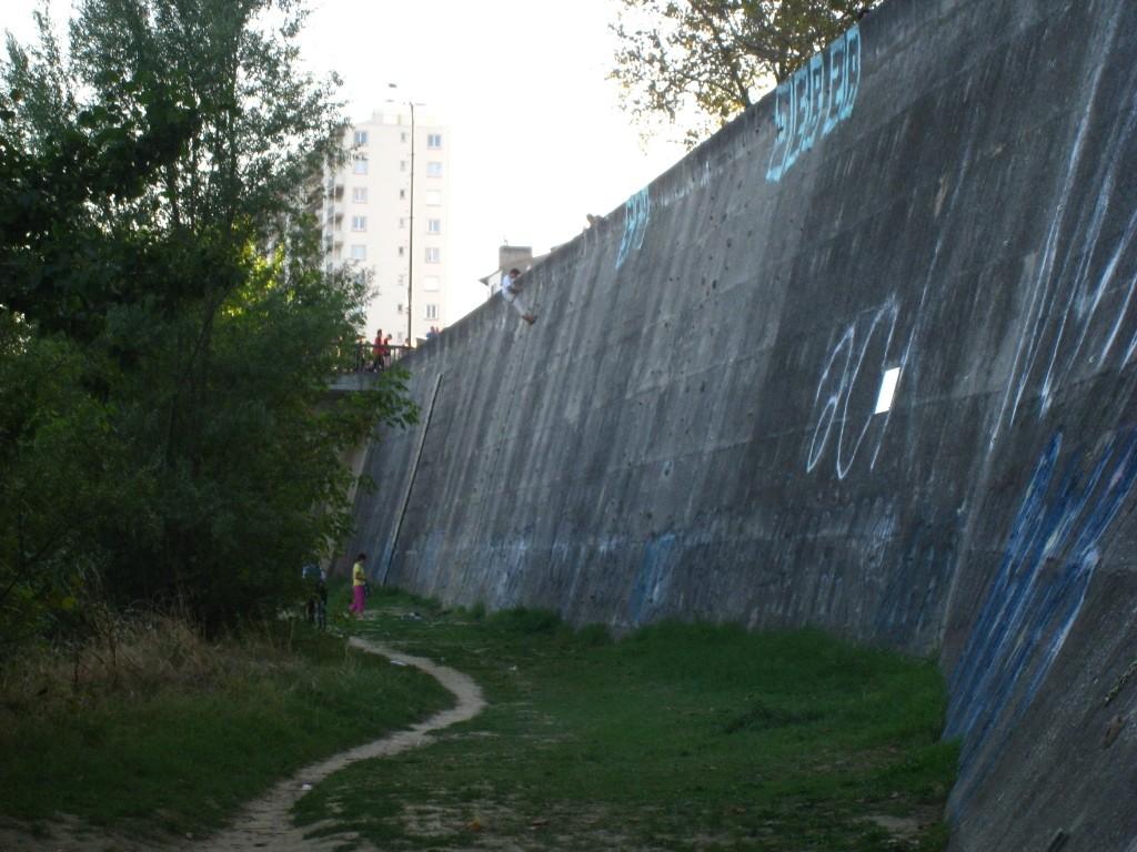 """La """"falaise"""" des Berges de la Garonne"""