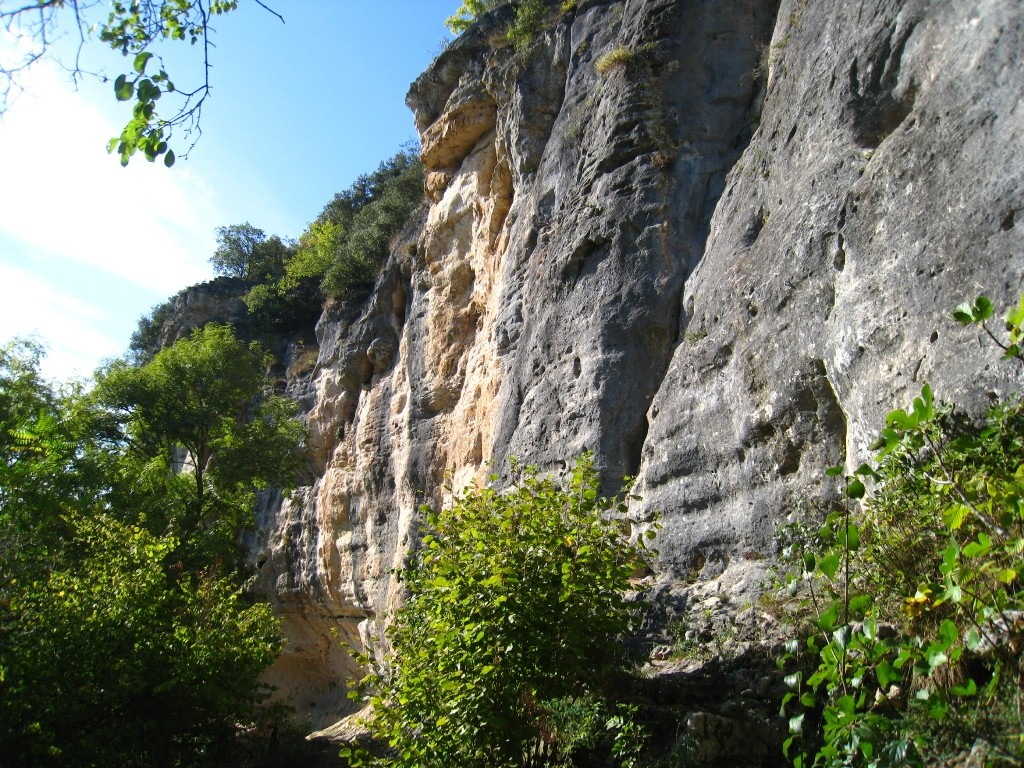 Milhac, secteur Streap Cliff