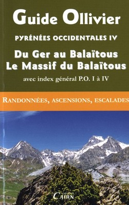 couverture « Pyrénées Occidentales IV »