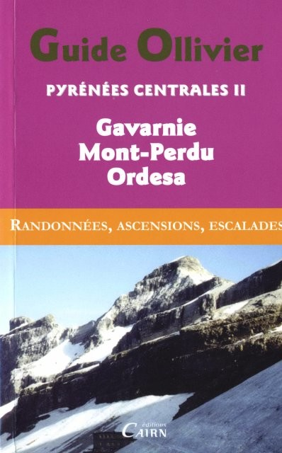 couverture « Pyrénées Centrales II »