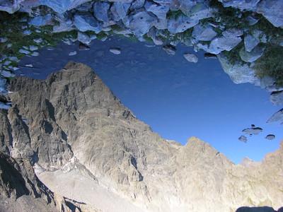 Reflet de l'arête nord du Sirac