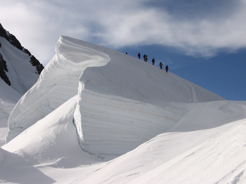 Descente du Mt Blanc