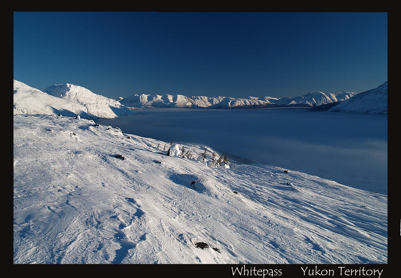 Whitepass    Yukon /Alaska border  -20C
