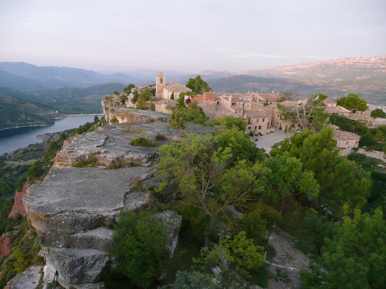 Siurana, le village