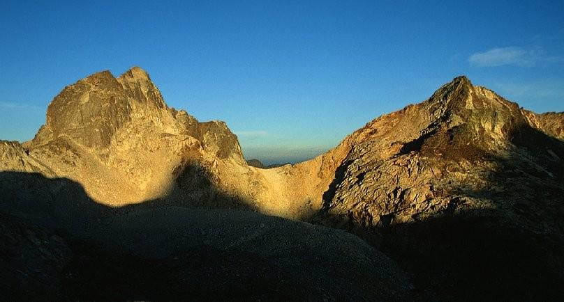Pic des Gourgs Blancs et pic Gourdon
