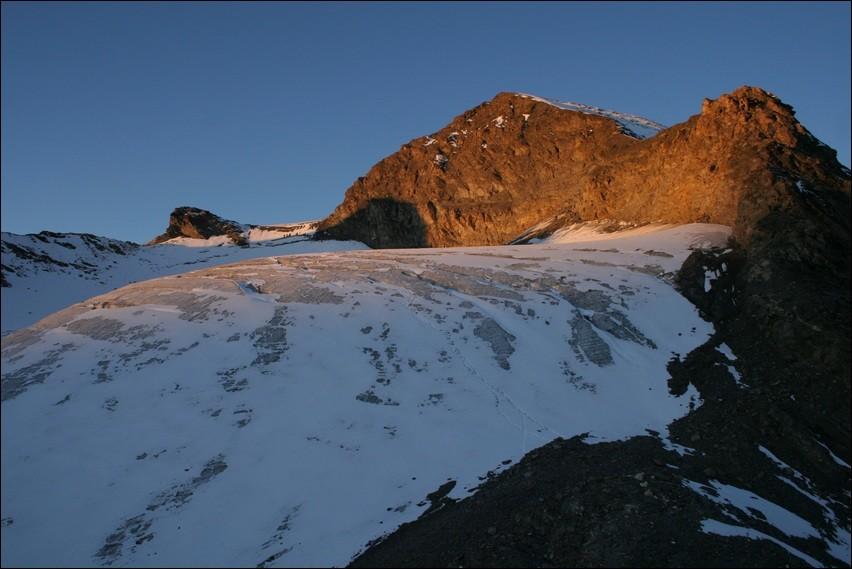 Glacier des Roches et Signal de Méan Martin