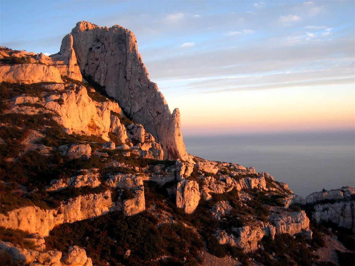 Grande Candelle et Arête de Marseille