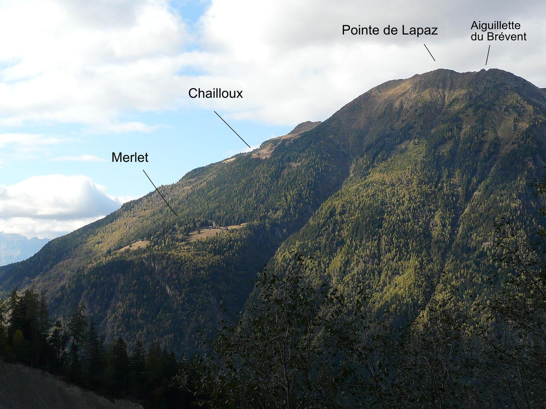Pointe de Lapaz (versant S)