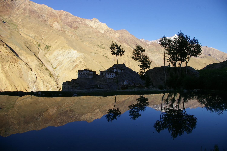 Zanskar 2009, village de Ichar.