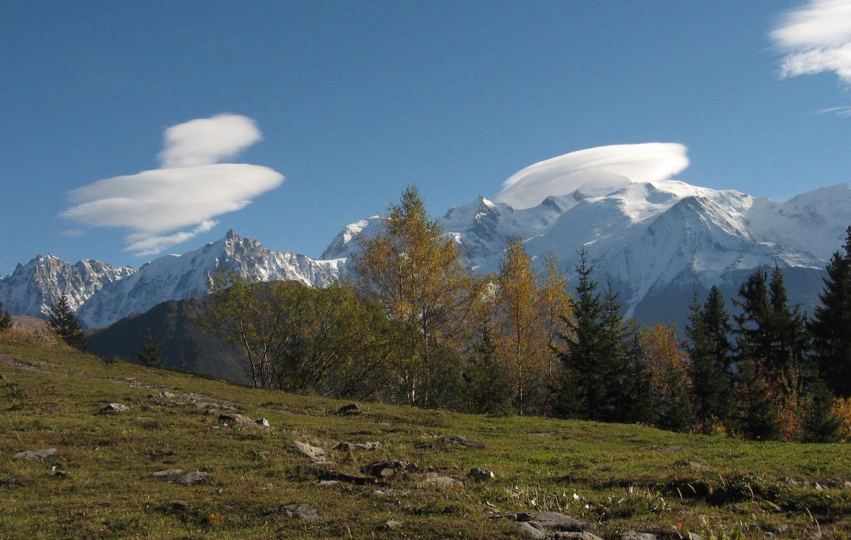 Le Mont-Blanc et sa coiffe