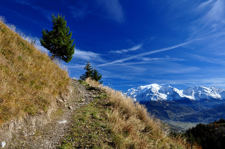 Mont-Blanc au retour