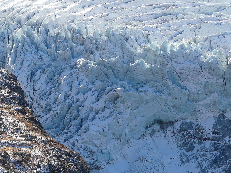 Séracs, glacier d'Argentière