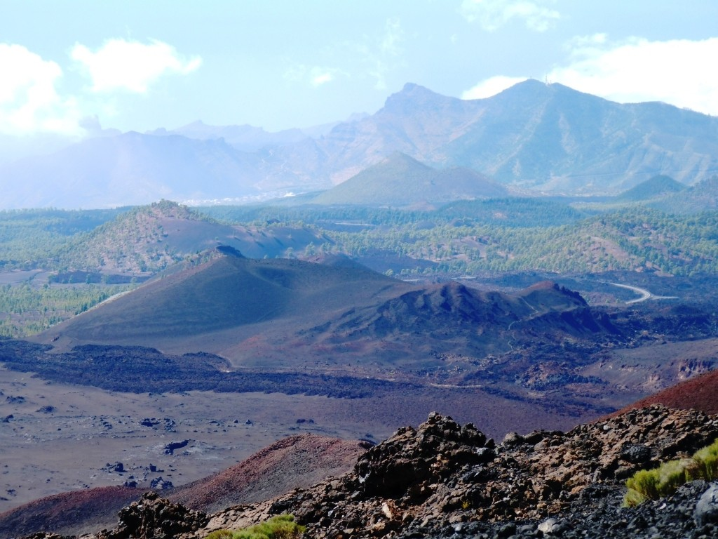 Massif du Teno, en descendant du Pico Viejo