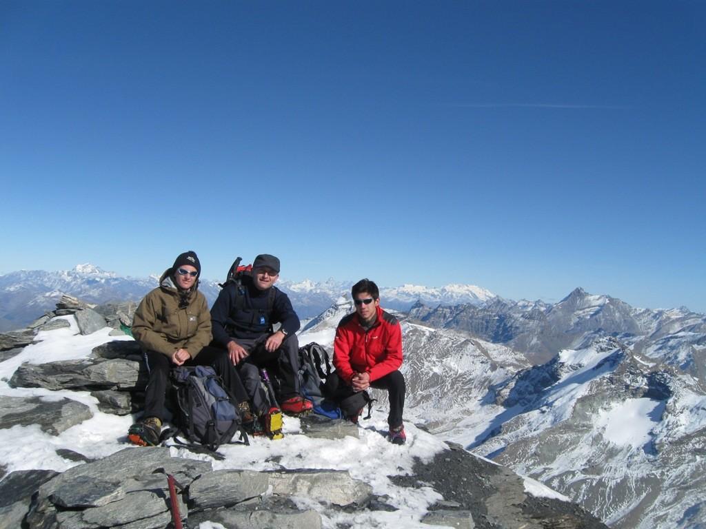 Team Rando au sommet