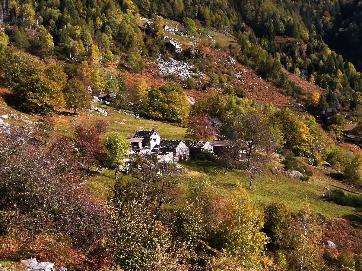 Passo della Garina (Valle Onsernone, Tessin)