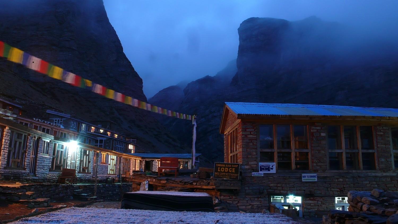 Lodge sous Thorong La Pass