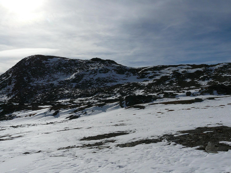 La pointe de Medzove versant N (Parc Naturel du Mont Avic)