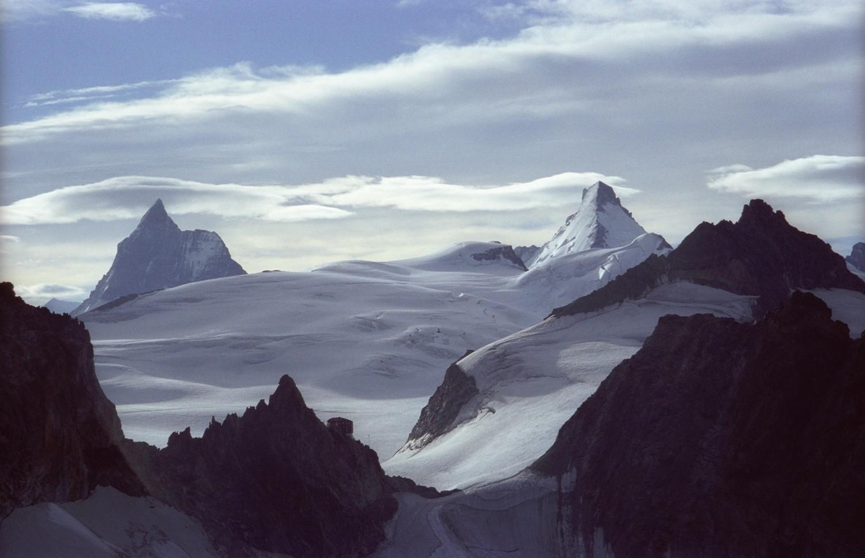 Le majestueux plateau d'Hérens