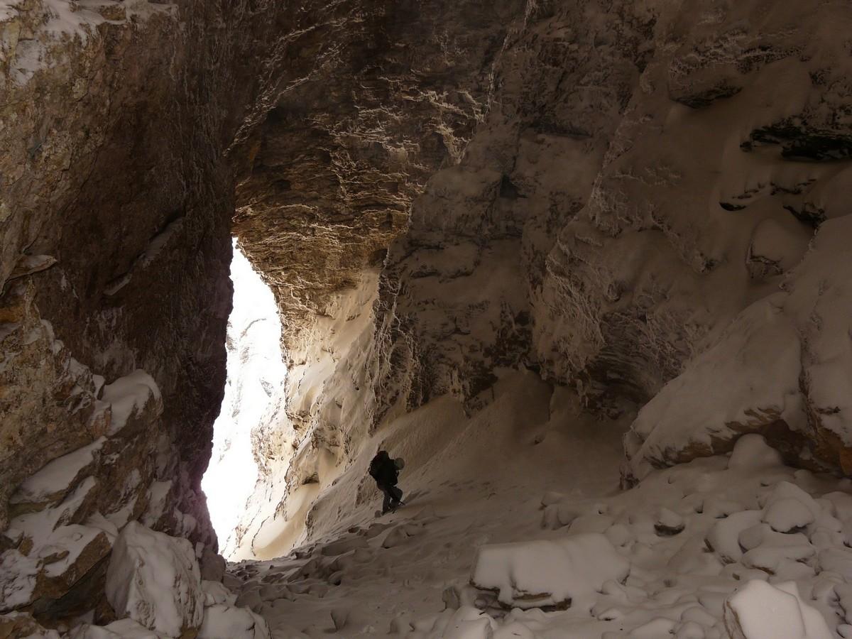Dans le tunnel des arches inter-ferrantes
