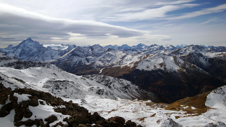 de la Dt. Blanche au Mt. Blanc