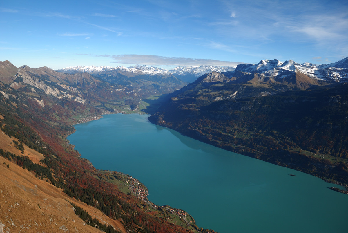Lac de Brienz vu du Brienzergrat