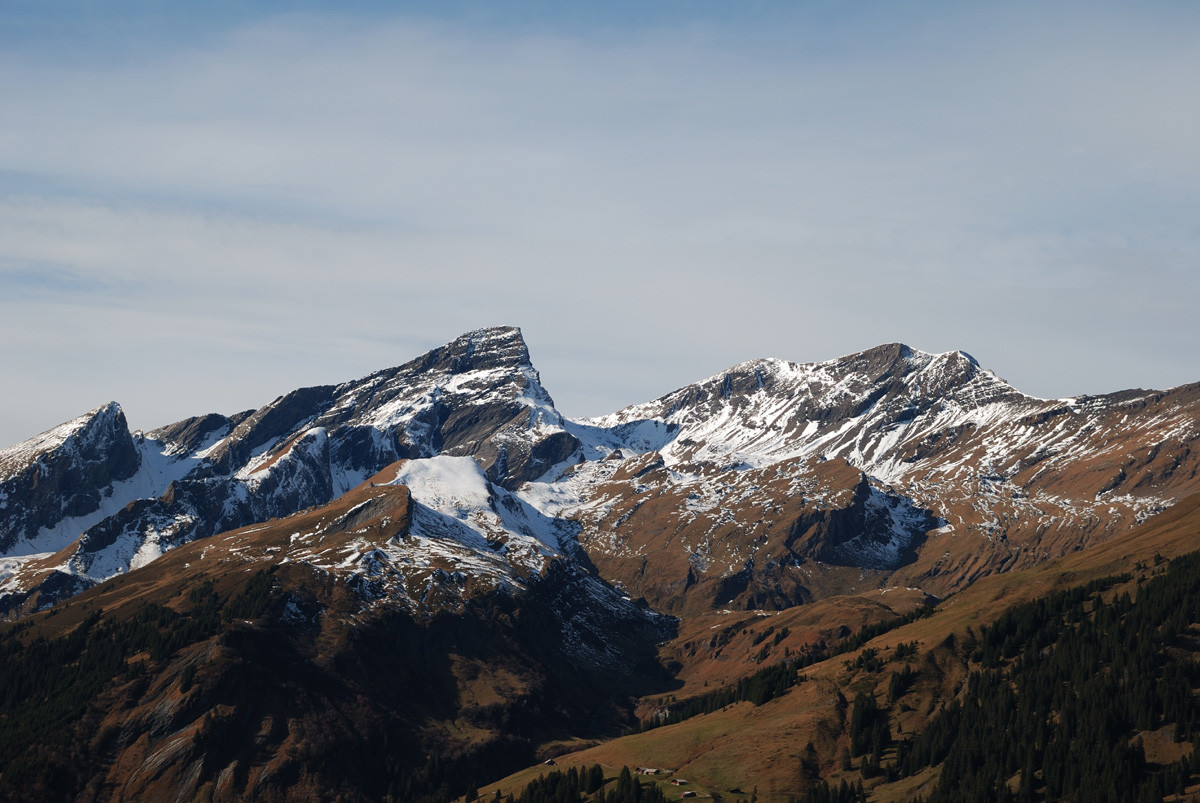 Schwarzhorn (2900m) et Wildgärst, Oberland Bernois
